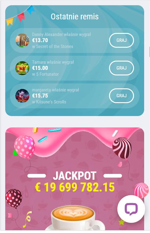 Turnieje w Cookie Casino app